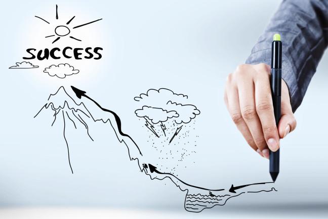 Viele Unternehmen steigen leider schon bei der ersten oder zweiten Senke aus (Bild: © Sergey Nivens - Fotolia.com).