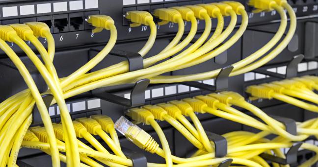 Switches aus der Industrie wurden plötzlich auf privaten LAN-Partys benötigt.