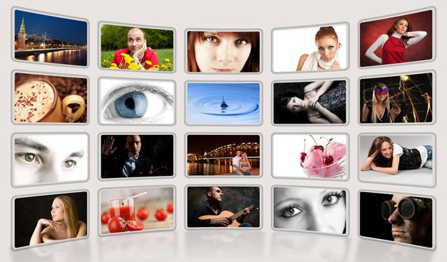 Hintergrundmusiken oder Fotos lassen sich problemlos auf Vorrat produzieren. (Bild: spaxiax – shutterstock.com)