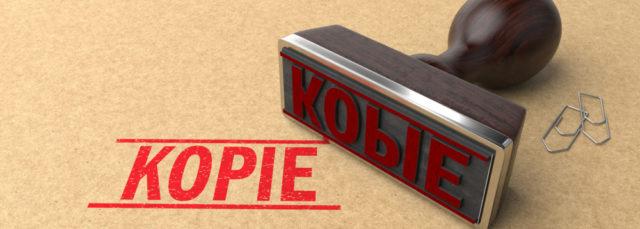 Kopie-Stempel