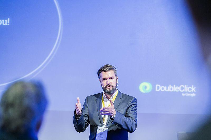 Michael Plate, Head of Platforms Agency Networks DACH. (Bild: Swiss Online Marketing / Friederike Tröndle)