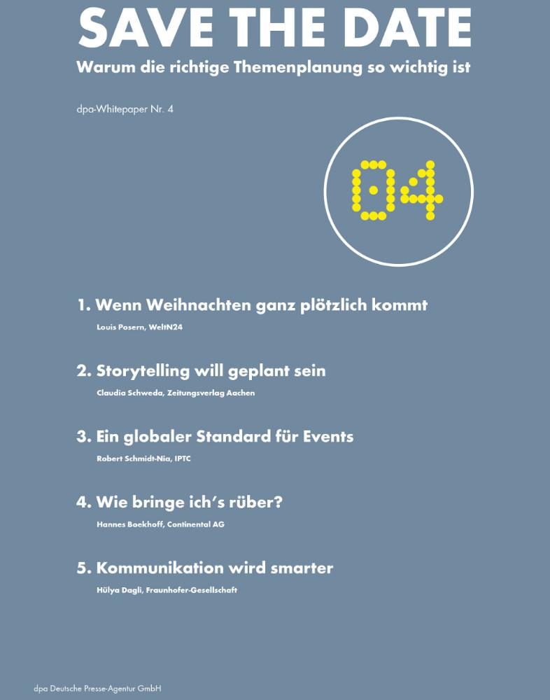 dpa-Whitepaper (Bild: obs/dpa Deutsche Presse-Agentur GmbH)